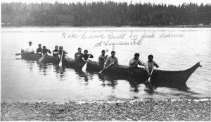 Suquamish canoe
