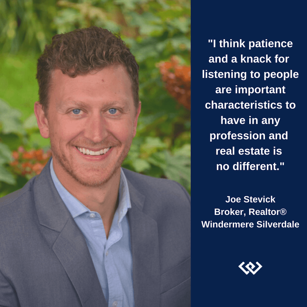 joe stevick Windermere agent