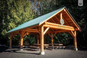 rotary preserve park shelter