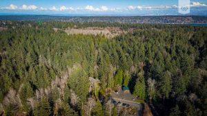 Illahee Preserve aerial shot