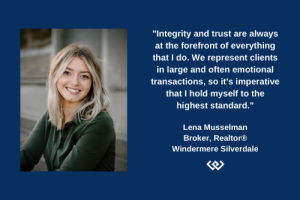 Lena Musselman Realtor quote