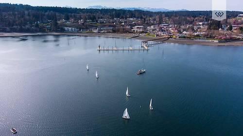 sailing aerial