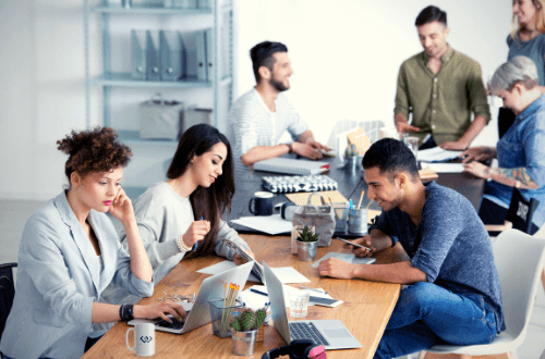 coworking space professionals